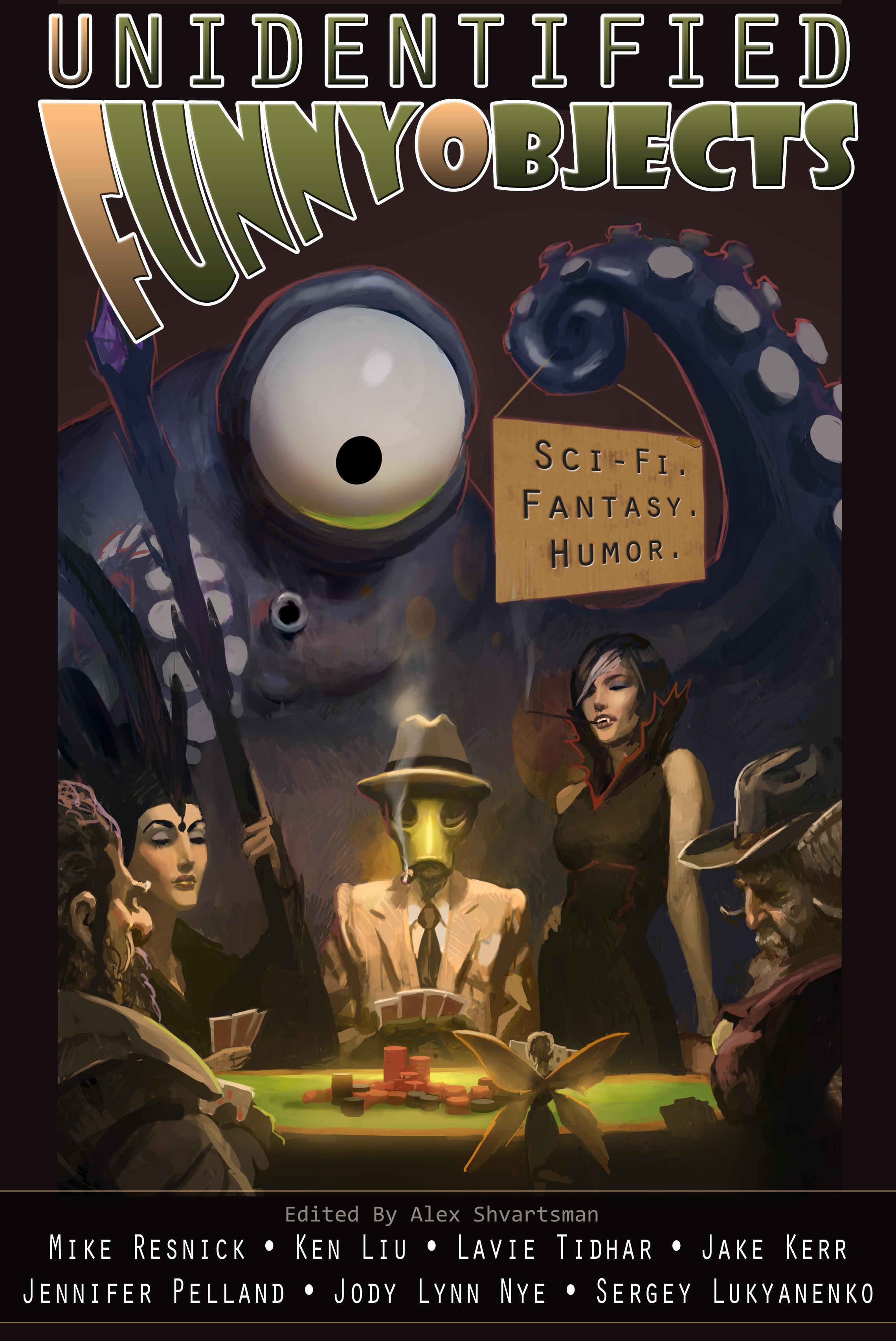 Unidentified Funny Objects Anthology (UFO)