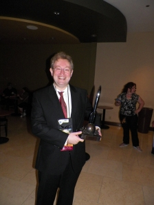 It may not be my Hugo, but I still enjoyed carrying it around for the evening.