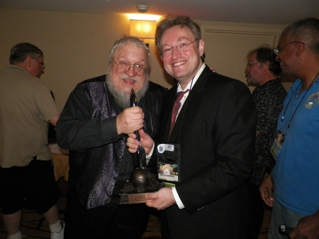 Ken's Hugo receives the George R.R. Martin seal of approval.