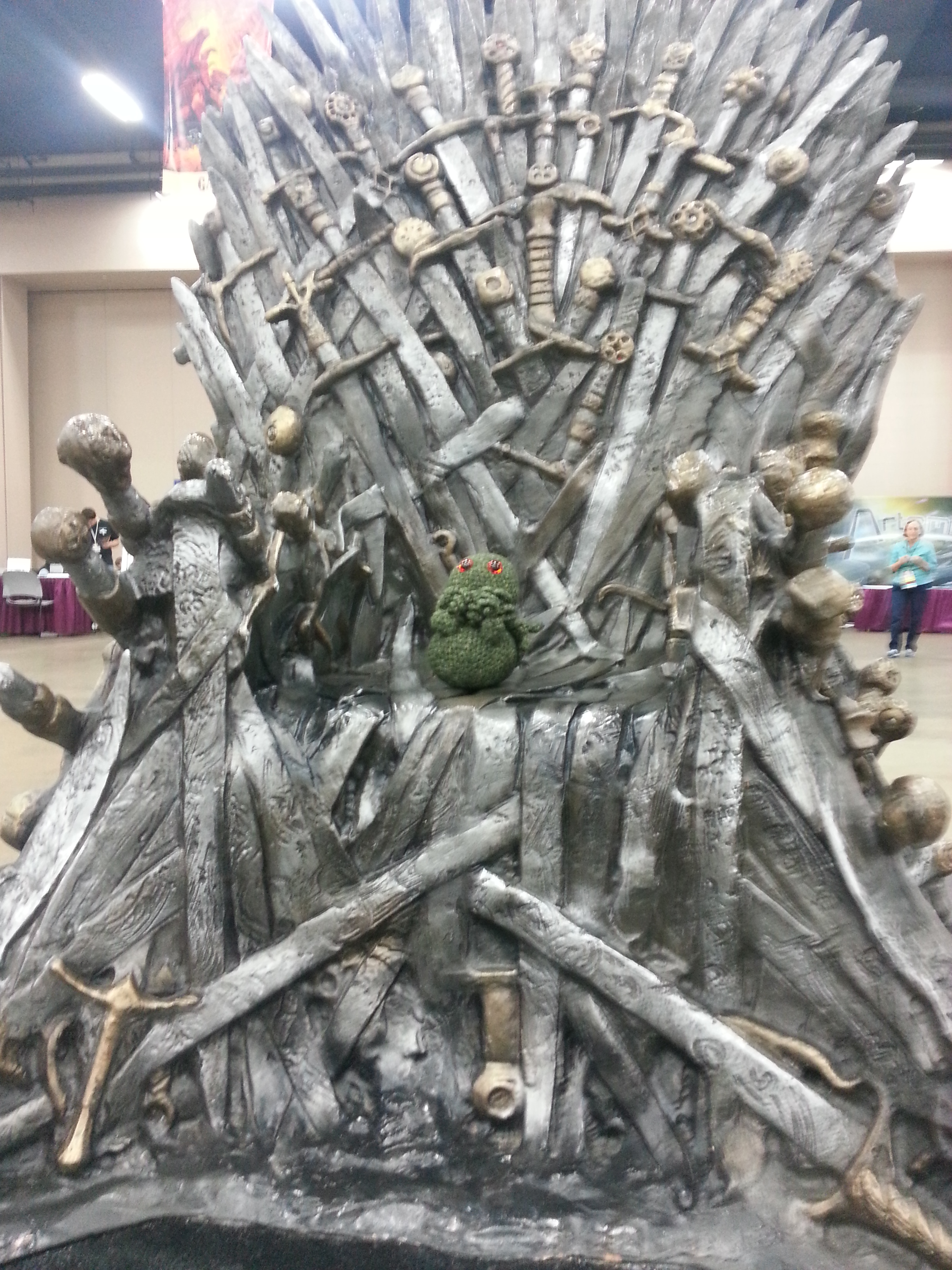 Where no cthulhu has gone before alex shvartsman 39 s for Iron throne bean bag