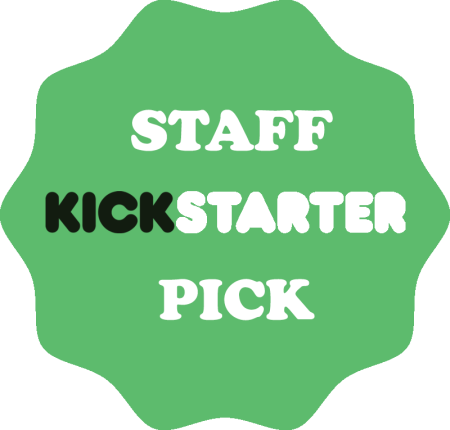 Kickstarter Staff Pick Button