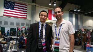 Ken Liu and Alvaro Zinos-Amaro