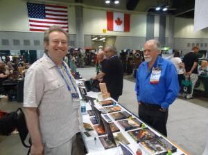 With Bob Silverberg