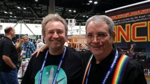 With Guest of Honor David Gerrold.
