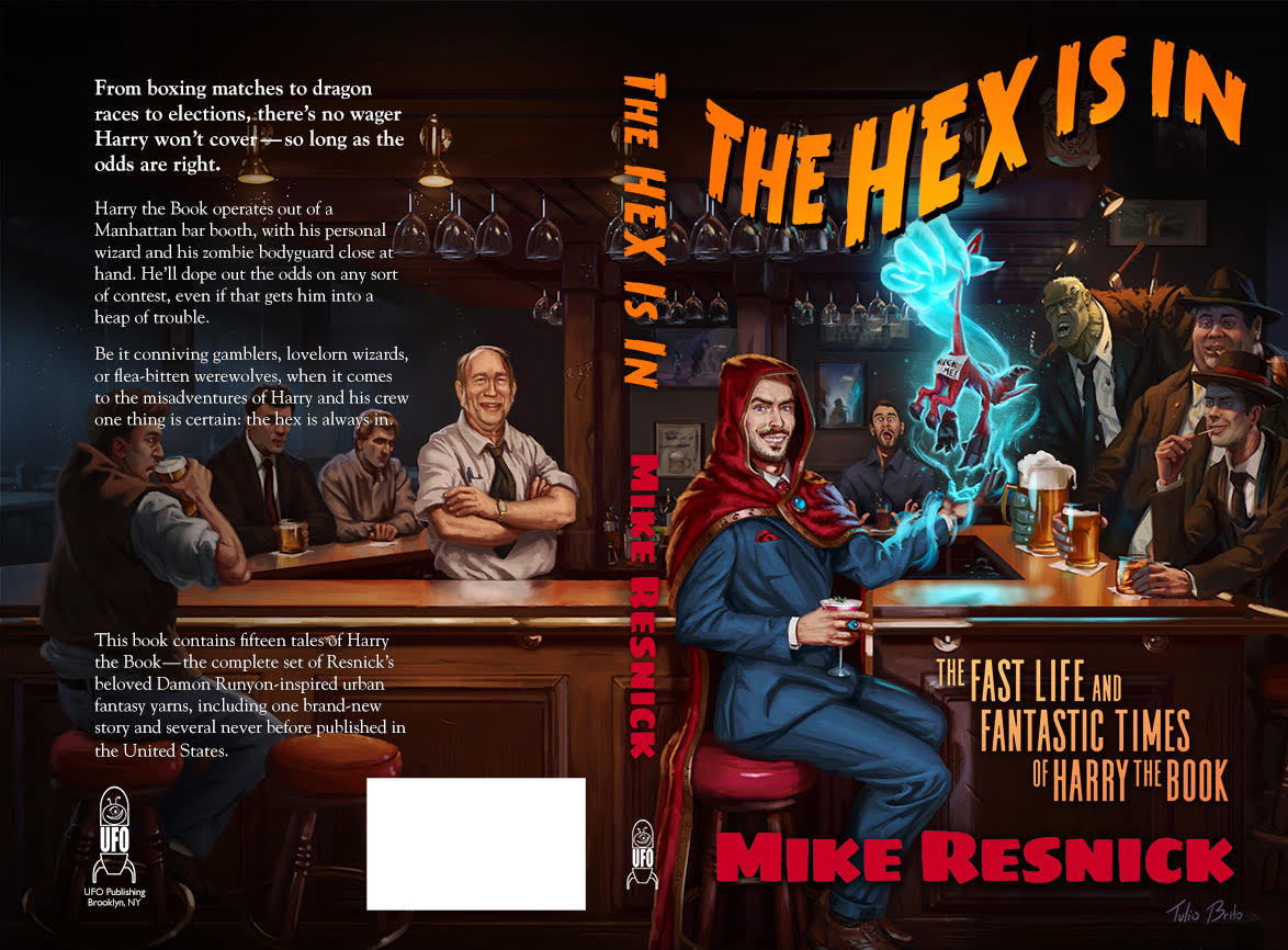 The Hex Is In By Mike Resnick Cover Reveal And Earc Alex Shvartsman S Speculative Fiction